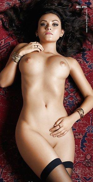 Centerfold model Alexandra Tyler exposes big natural bra-stuffers