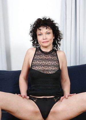 Mature divorcee Claudie Dark uses her alimony to secure herself plenty of Big black cock