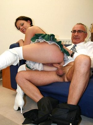 German escort model Trinity wanted his dick at any cost and got cunny holed