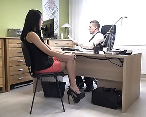 Girls Office Pics